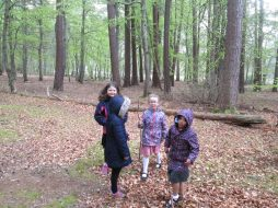 outdoor learning in the woods 051
