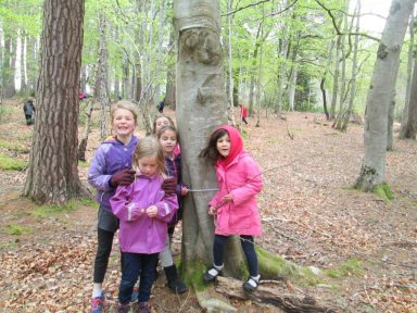 outdoor learning in the woods 066