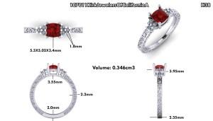 ruby ring design