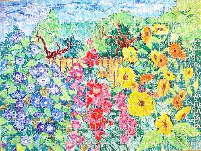 Jim's Garden by Vige Barrie