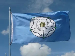 Yorkshire Flag Image by Brian Pettinger on Flickr