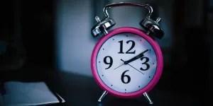 winter opening hours - alarm clock