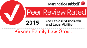 Martindale-Hubble Tampa Divorce Law Review of Kirkner Family Law