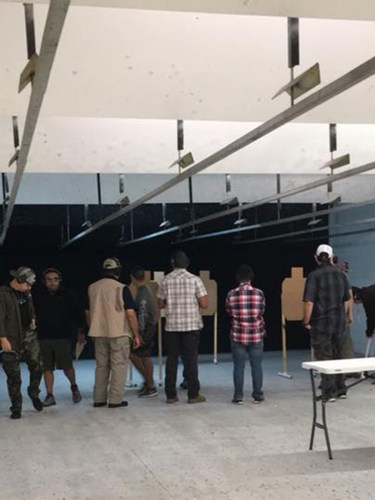 indoor idpa match
