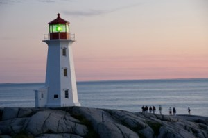 LightHouse at Peggy's Cove, Nova Scotia, Canada