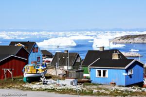 Greenland's third largest settlement::Ilulissat