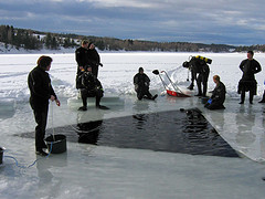 Basics of Ice Diving