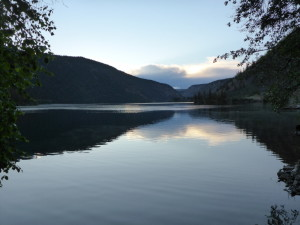 Pavilion Lake, British Columbia, Canada