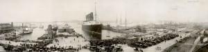 Lusitania, New York City, September 1907