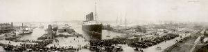 Lusitania, New York City, September 1907