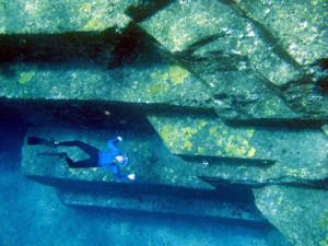 Mysterious Underwater Ruins in Japan
