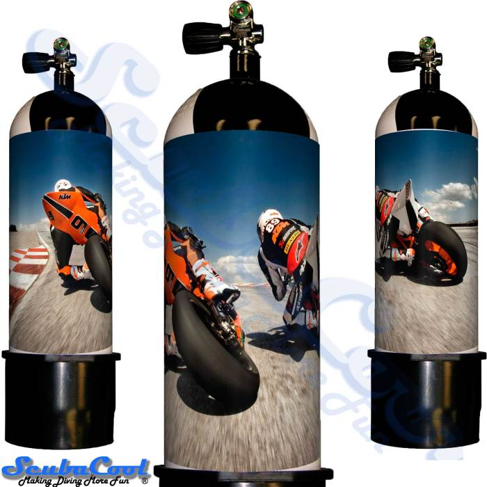 2108 Scubacool Scuba Dive Gas Cylinder Tank Cover NOT neoprene