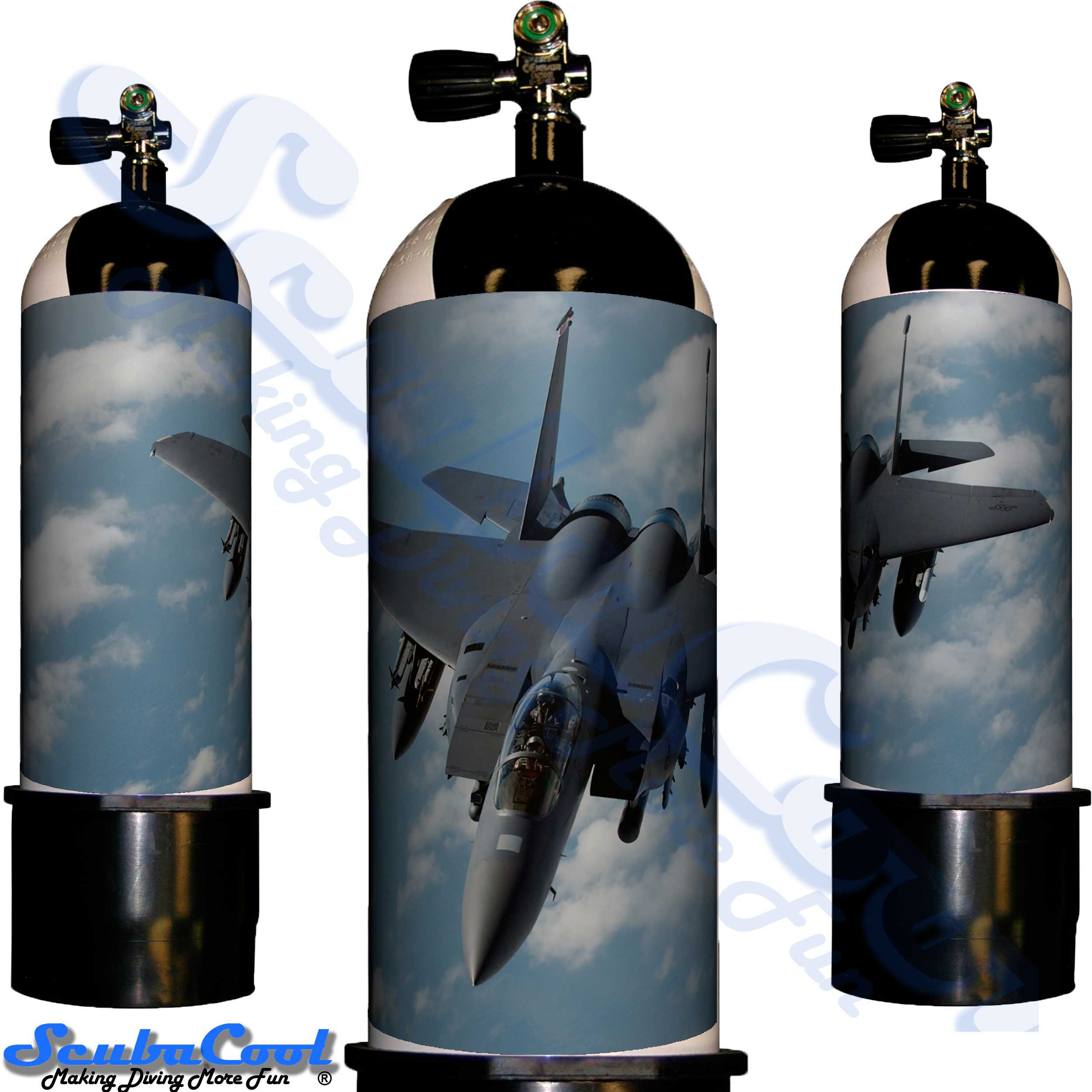 2212 Scubacool Scuba Dive Gas Cylinder Tank Cover NOT neoprene