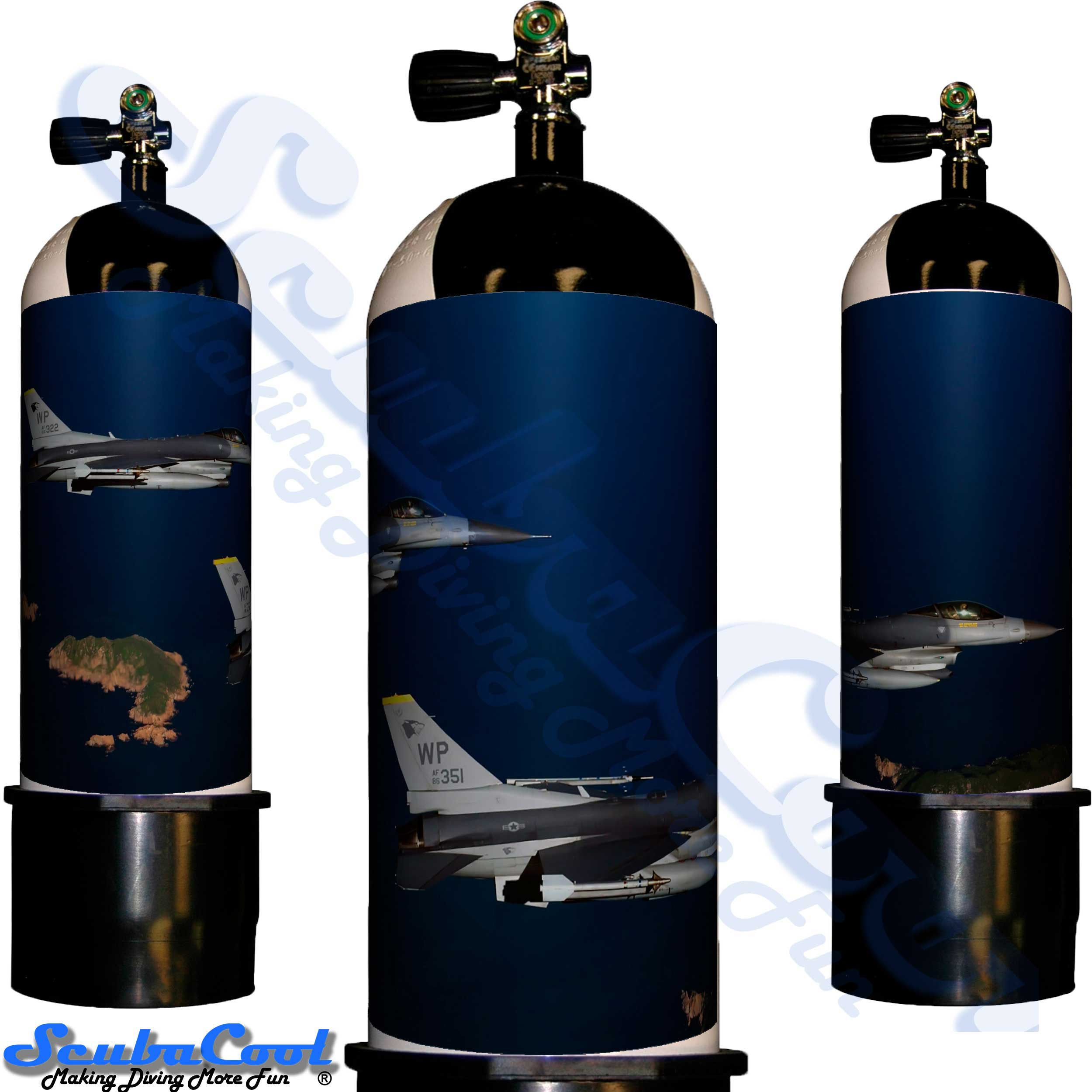 2218 Scubacool Scuba Dive Gas Cylinder Tank Cover NOT neoprene