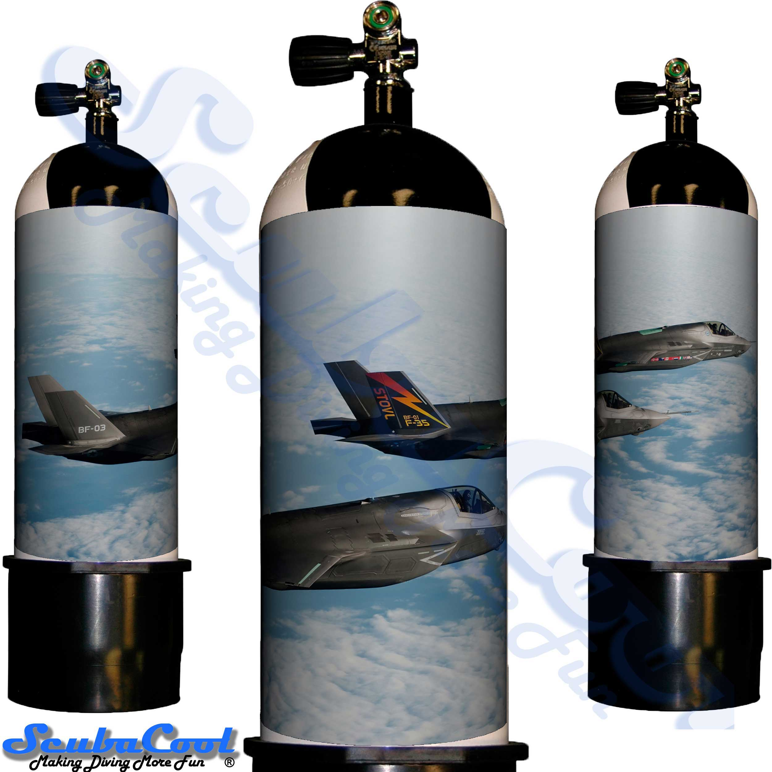 2223 Scubacool Scuba Dive Gas Cylinder Tank Cover NOT neoprene