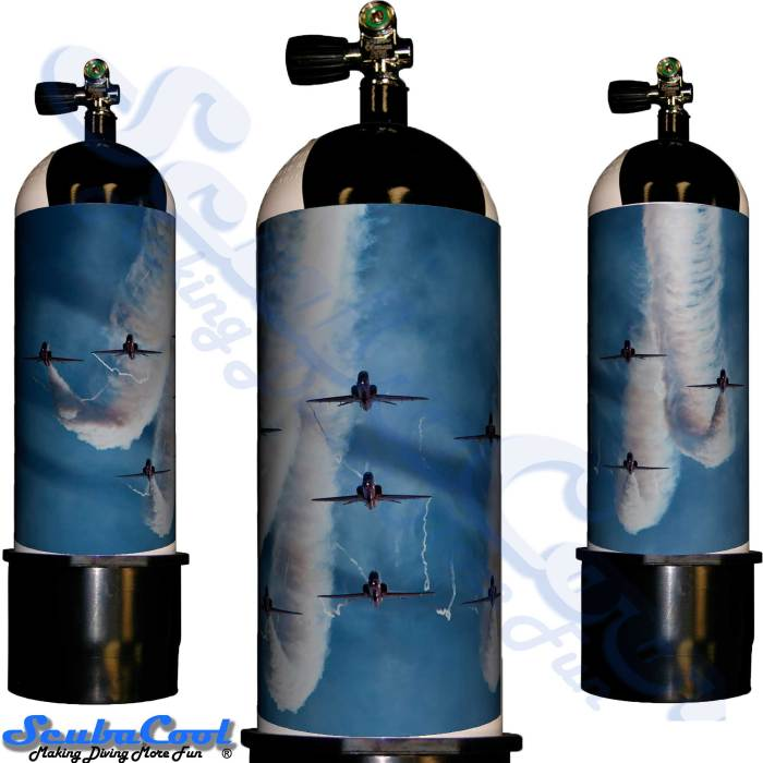 2227 Scubacool Scuba Dive Gas Cylinder Tank Cover NOT neoprene