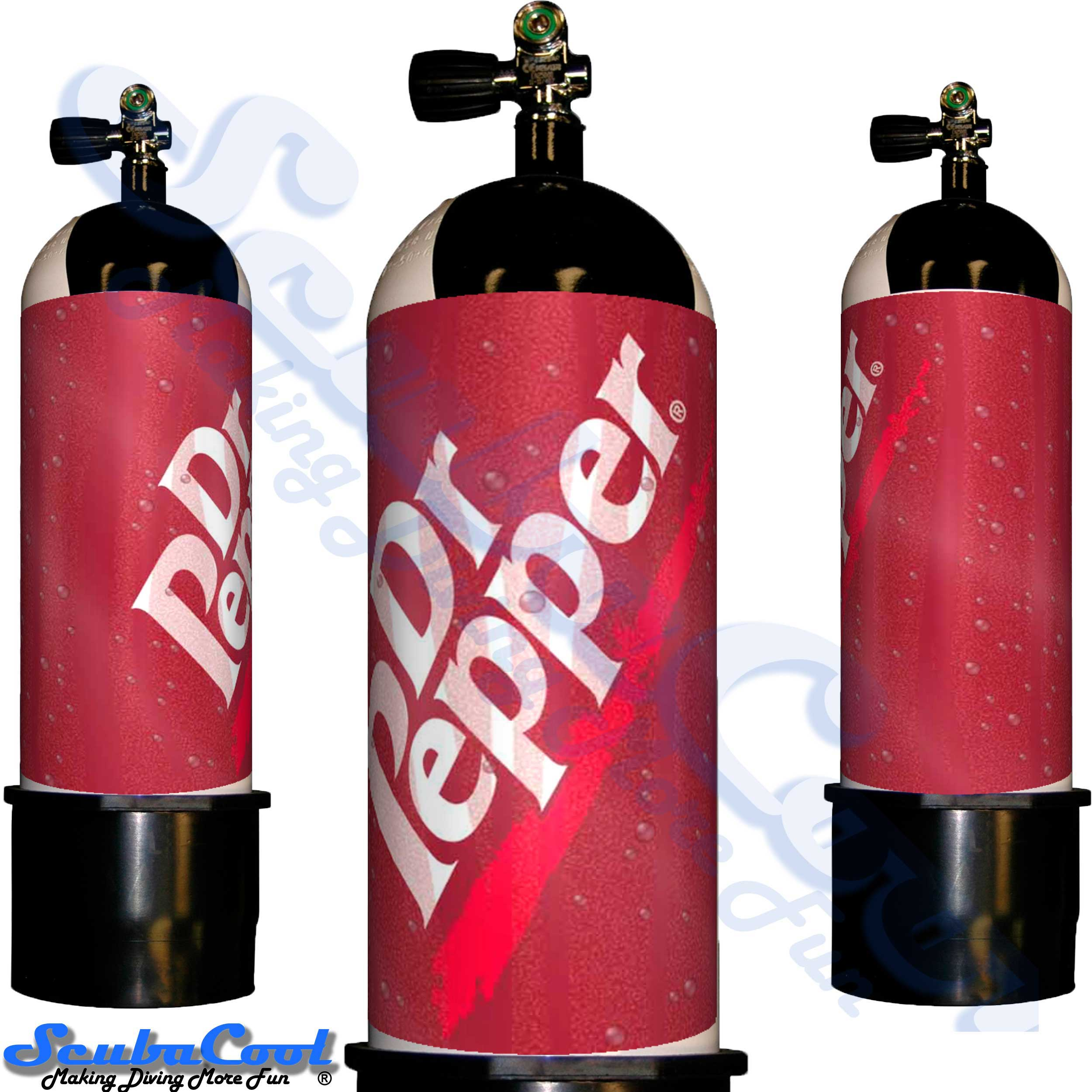 2733 Scubacool Scuba Dive Gas Cylinder Tank Cover NOT neoprene