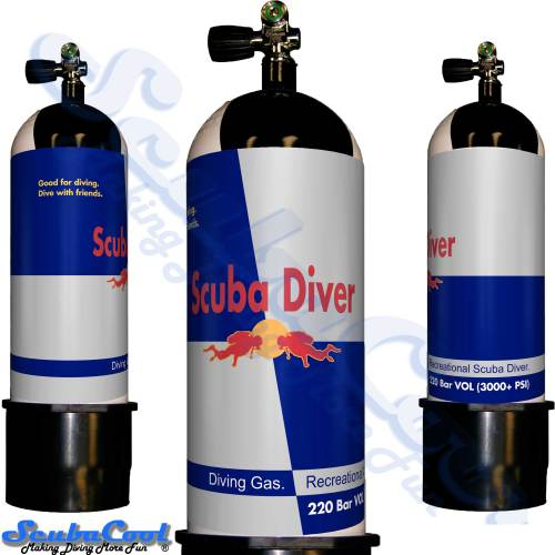 2767 Scubacool Scuba Dive Gas Cylinder Tank Cover NOT neoprene