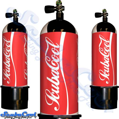 2776 Scubacool Scuba Dive Gas Cylinder Tank Cover NOT neoprene