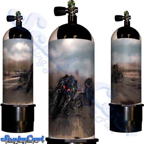 3114 Scubacool Scuba Dive Gas Cylinder Tank Cover NOT neoprene