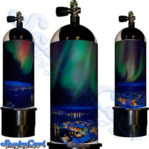 3317 Scubacool Scuba Dive Gas Cylinder Tank Cover NOT neoprene