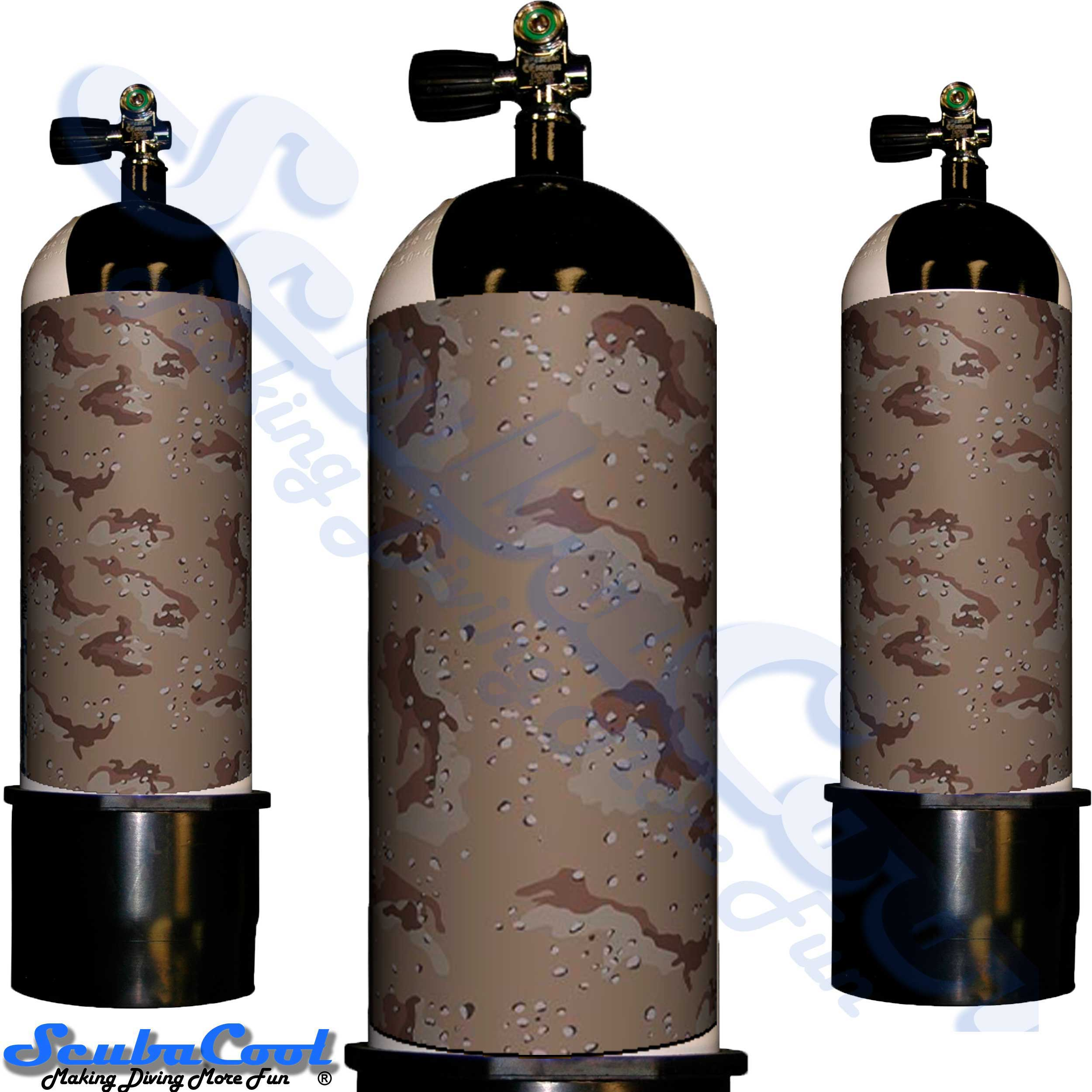 3409 Scubacool Scuba Dive Gas Cylinder Tank Cover NOT neoprene