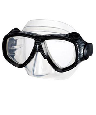 IST M80 2 Lens Silicone Search Low Profile Scuba Diving Mask for Scuba Diving
