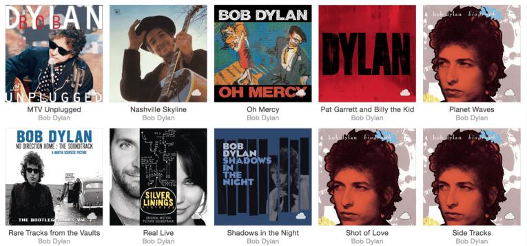 Apple music album artwork