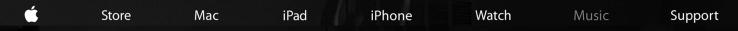 Apple nav bar