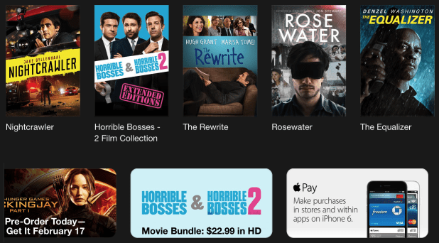 Apple pay itunes store