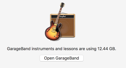 Garage band space
