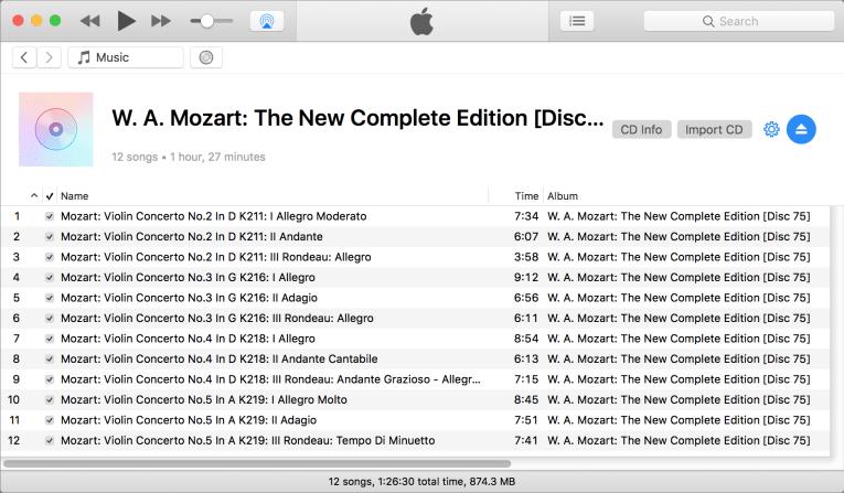 Longest cd