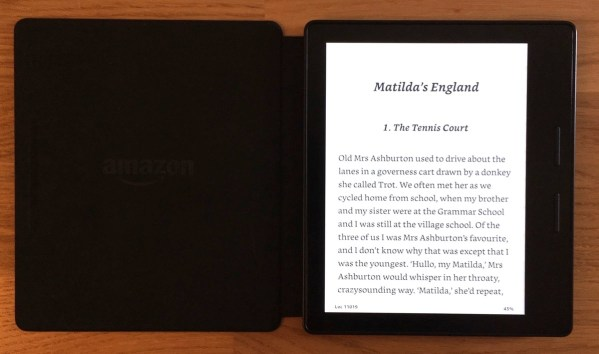 Kirkville - Review: Kindle Oasis, an Interesting Ebook Reader