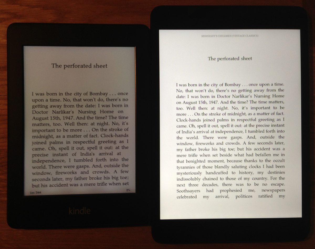Apple Ipad Vs Kindle: IPad Mini Vs. Kindle Paperwhite