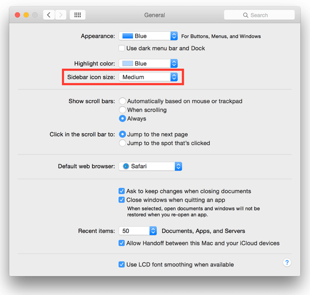 Kirkville Os X Tip Increase Icon Size In Itunes Mail And Finder