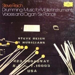 Steve reich drumming DG