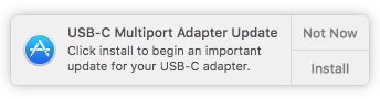 Usb adapter update
