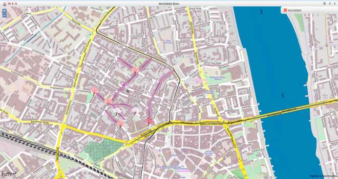 Bonn Karte.Anfahrt Zur Bonner Kirschblüte Kirschbluete Bonn