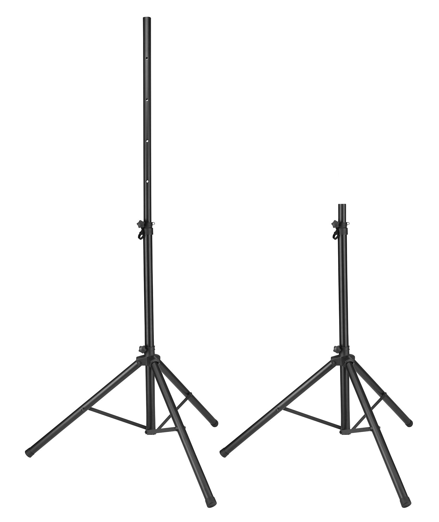 Pronomic Sps 1a Speaker Stand Aluminum Set With Bag