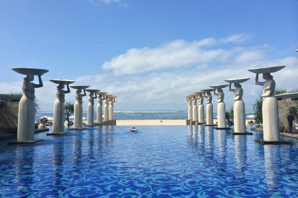 visiting mulia bali resort indonesia