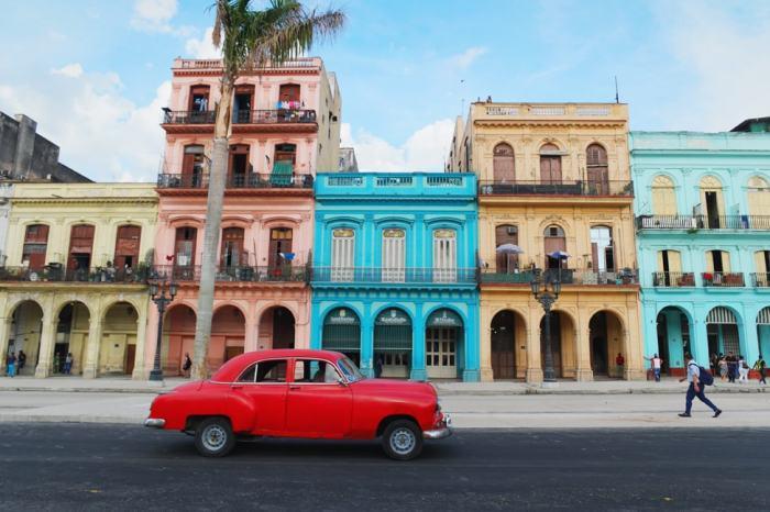 classic cuban car print
