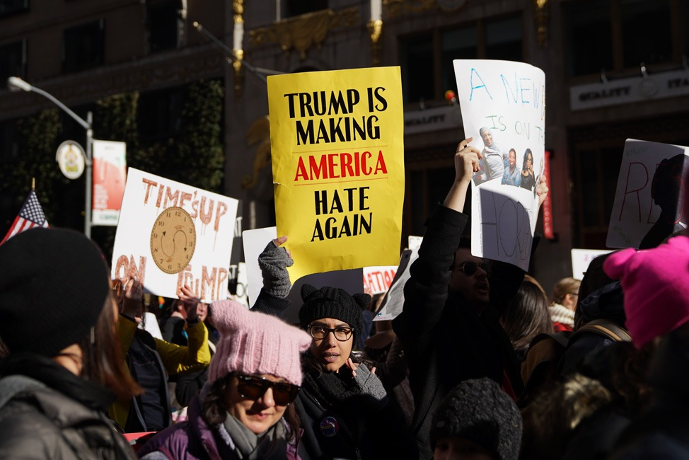 A Photographers Report on the WomensMarch 2018