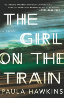 the girl on the train, paula hawkins, thriller, book, books