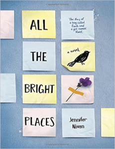all the bright places, bird, young adult