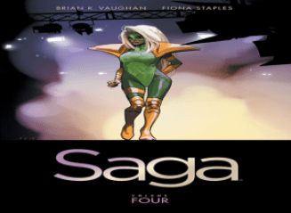 saga, volume 4, graphic novels, novels