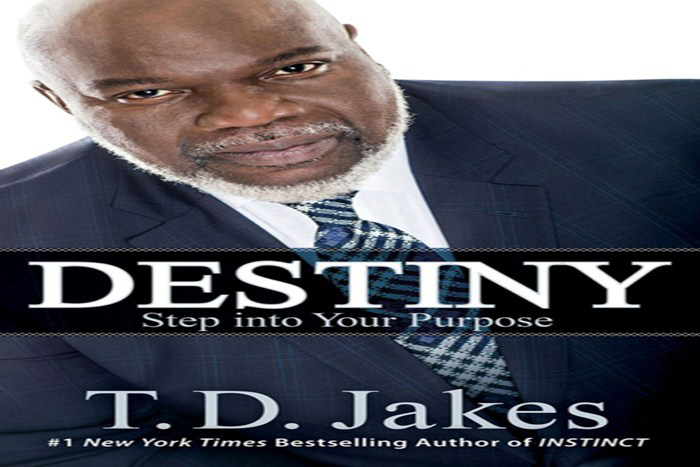 Destiny by TD Jakes, td jakes, destiny, books