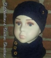 beanie, scarf, crochet, crocheting