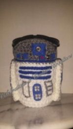 R2D2, crochet, crocheting, star wards
