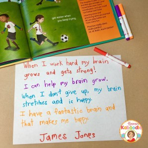 Are you teaching your students about growth mindset? Your Fantastic Elastic Brain is a perfect picture book for teaching growth mindset! These activities are easy to use and require no preparation, just like these growth mindset affirmations!