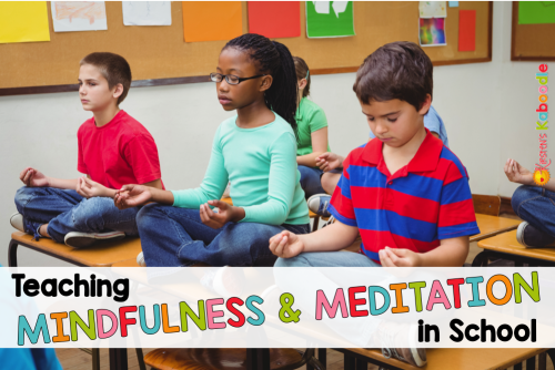 Do you want to teach your students about mindfulness and meditation, but you don't know where to start? Here is a quick guide for implementing a 10 minute each day mindfulness or meditation exercise.